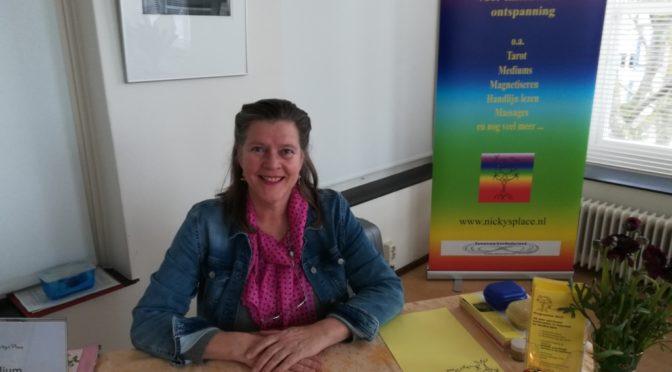 Nicole werkt in Haarlem