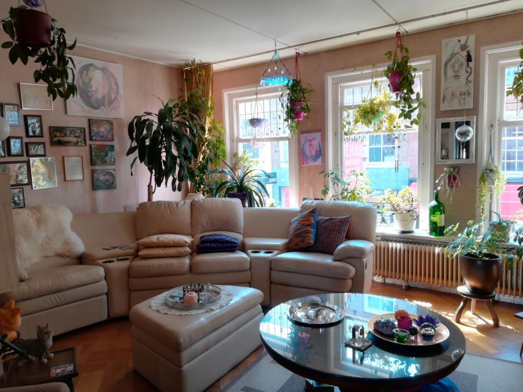 huiskamer van Nicole