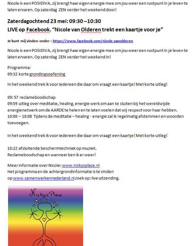 LIVE op facebook